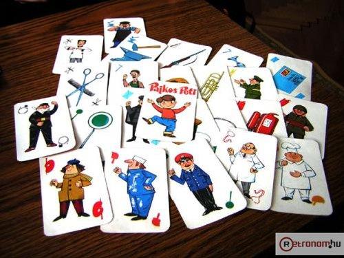 Pajkos Peti kártya