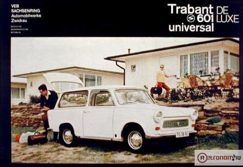 Trabant 601 Deluxe Kombil