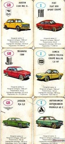 Autóskártya GB-I