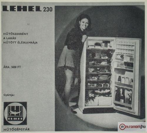 Lehel hűtőszekrény 230
