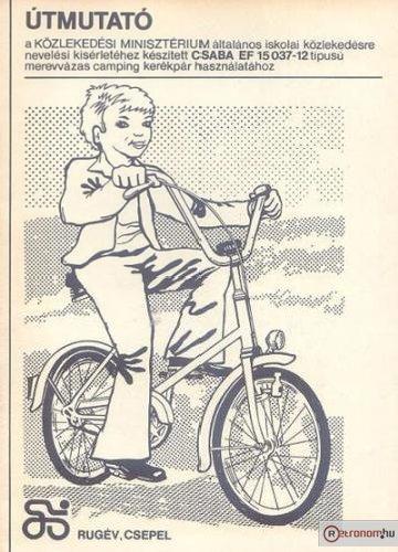Csepel Camping Csaba kerékpár