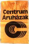 Centrum Áruház reklámzacskó