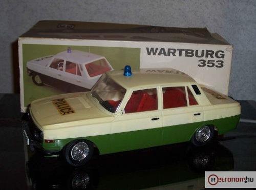 Wartburg 353 távirányítós autó Anker