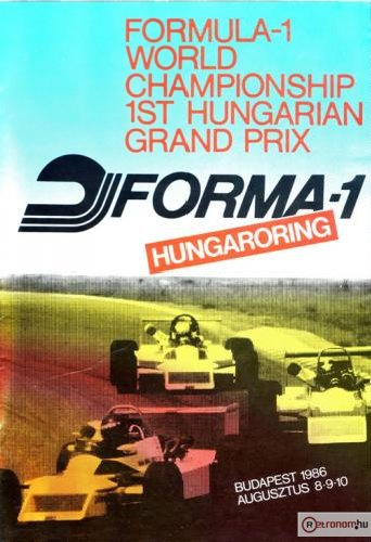 Hungaroring Forma-1 első Magyar Nagydíj