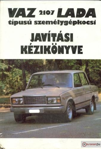 Lada 2107 szervízkönyv