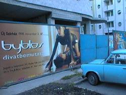 Byblos plakát Czaby fotóalbumából.