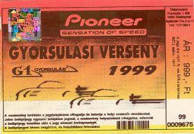Gyorsulási verseny Pioneer