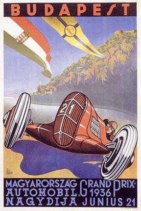 Budapest Grand prix plakát