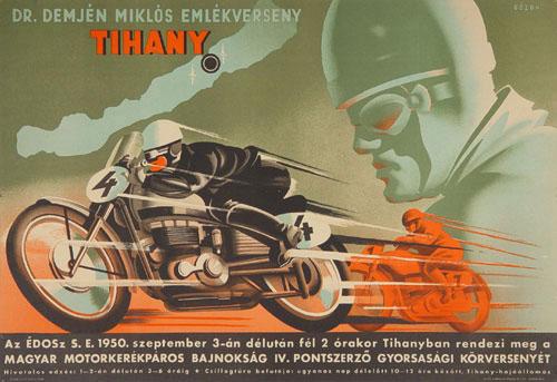 Demjén motorkerékpár emlékverseny