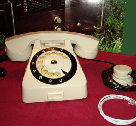 CB555 tárcsás telefon