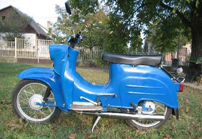 Simson motorkerékpár  Schwalbe