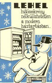 LEHEL hűtőszekrény reklámja