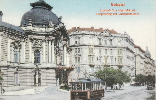 Budapesti villamos 125 éves