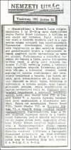 Nemzeti Újság cikk