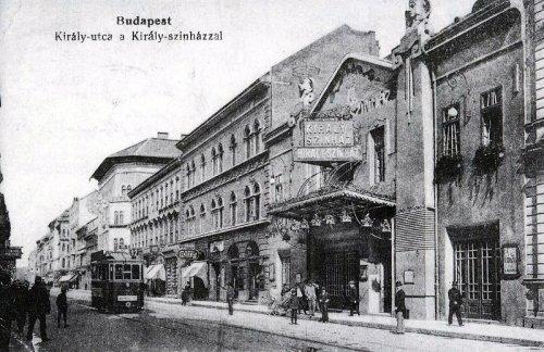Király utca 71. a Király Színházzal    BUDAPEST