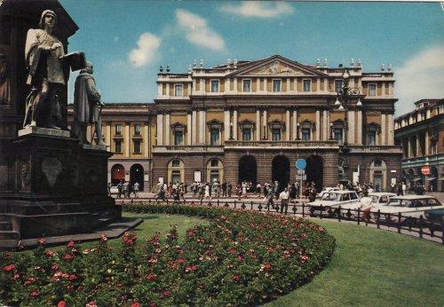 Milano Scala operaház