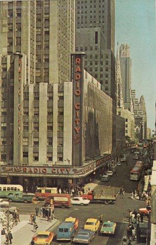 New York radio city corner