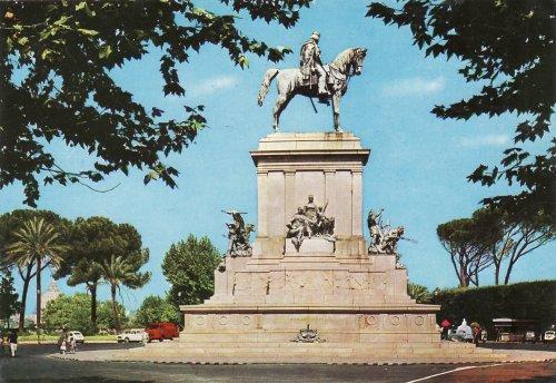 Róma Giuseppe Garibaldi lovasszobra