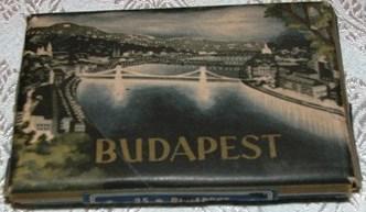 Budapest cigarettás doboz Kossuth-híddal