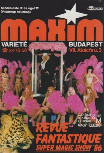 Maxim Varieté Budapest