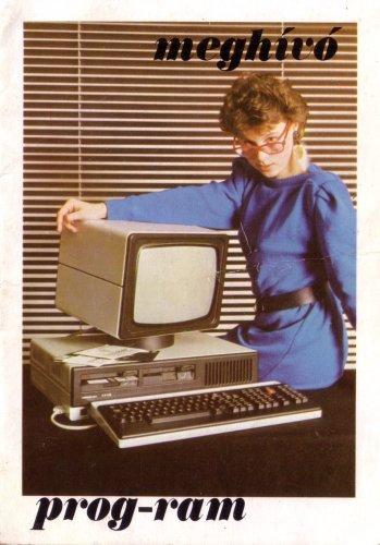 Meghívó számítástechnikai bemutatóra
