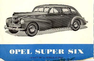 Opel six