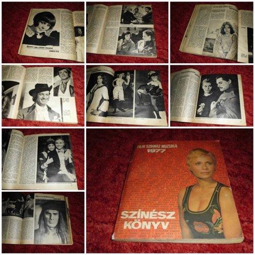 Film színház muzsika színészkönyv 1977