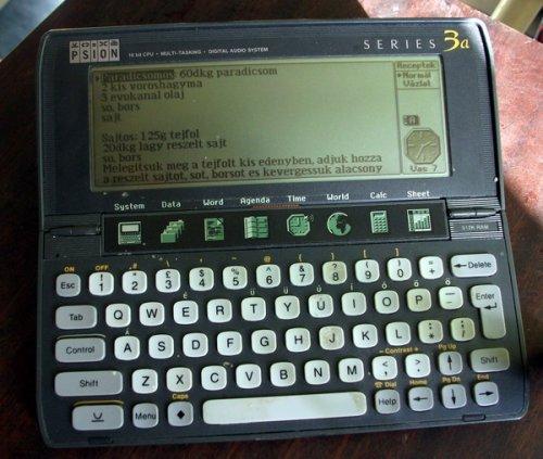 Psion manager kalkulátor