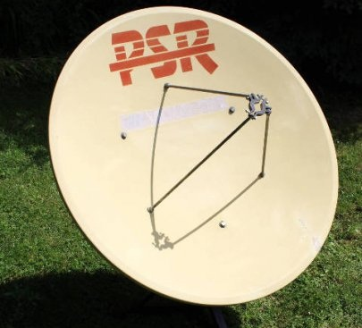 Videoton PSR Parabola Antenna Szett