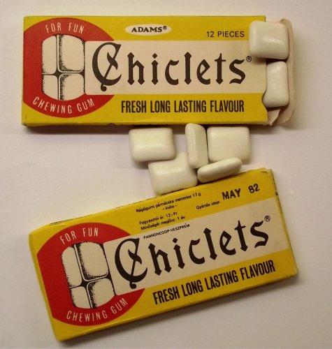 Chiclets rágógumi