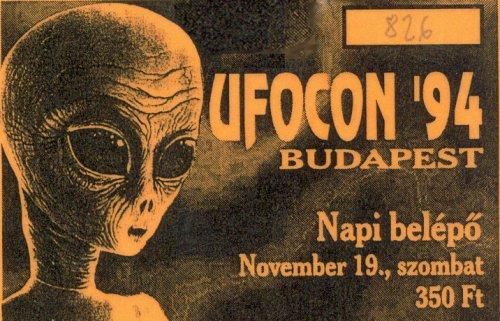 UFOCON'94 belépő