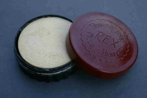 REX borotválkozó szappan