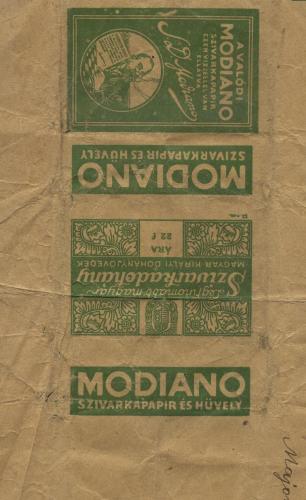 Modiano szivarka papir