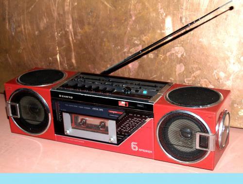 Sanyo rádiósmagnó N7740 L
