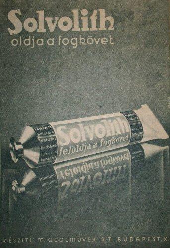 Solvolith fogkőoldó