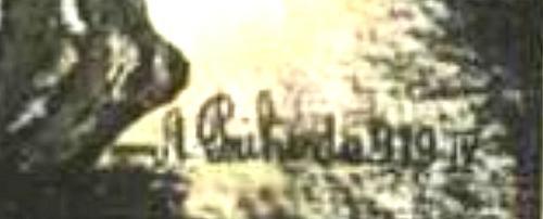 plakát grafikus szignó