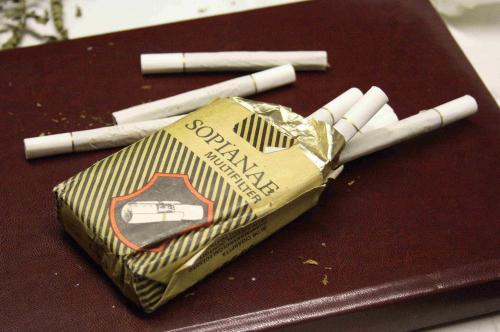 Sopianae cigaretta