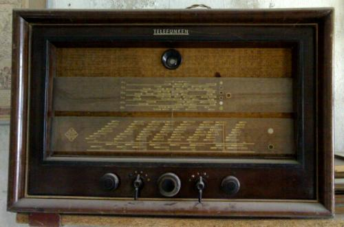 Telefunken rádió