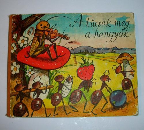 A tücsök meg a hangyák mesekönyv