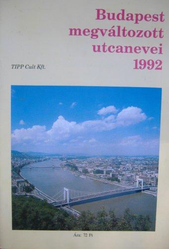 Budapest utcanevei