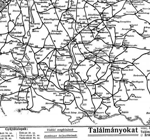 Nagy-Magyarország vasúti térképe 5.