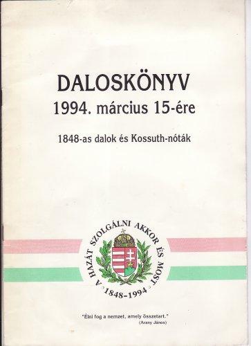 Daloskönyv