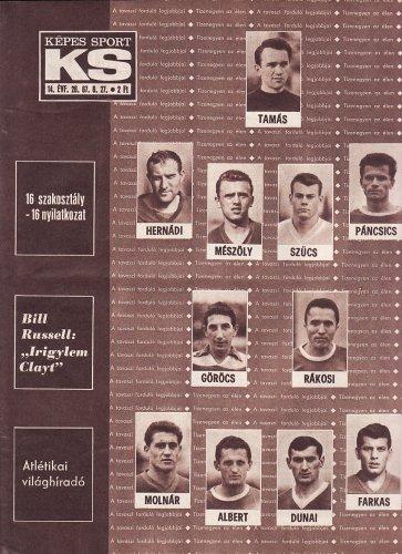 Az 1967-es labdarúgó bajnokság legjobbjai