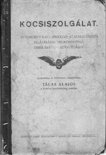 MÁV kocsiszolgálati kézikönyv