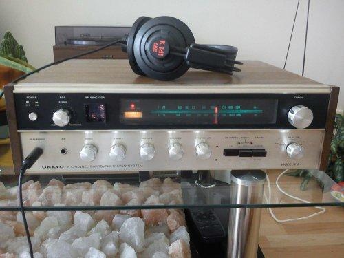 """Onkyo Y-2 """"surround stereo"""" rádió-erősítő"""