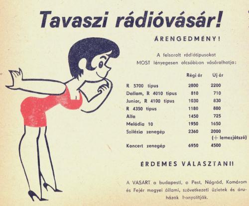Tavaszi rádióvásár!