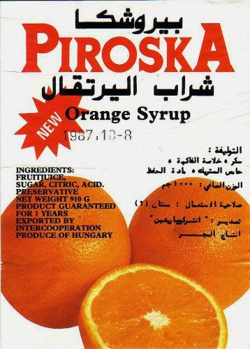Piroska narancslé