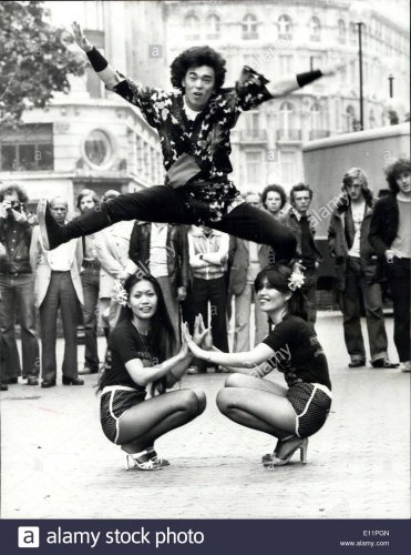 Tadaaki Dan 1978 Disco Tánc világbajnoka