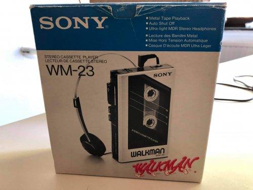 Sony walkman wm 23