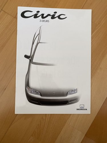 Honda Civic 3 ajtós katalógus